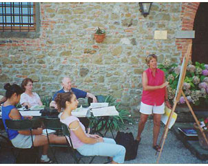 Art School in the heart of Tuscany